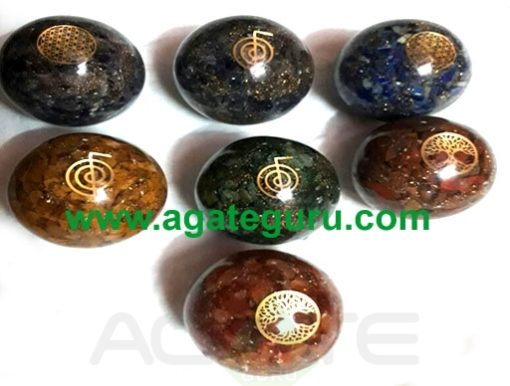 Orgone Ball With Flower Of Life
