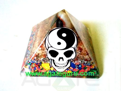 The Power of Orgone Pyramids With Ying Yang Dezine