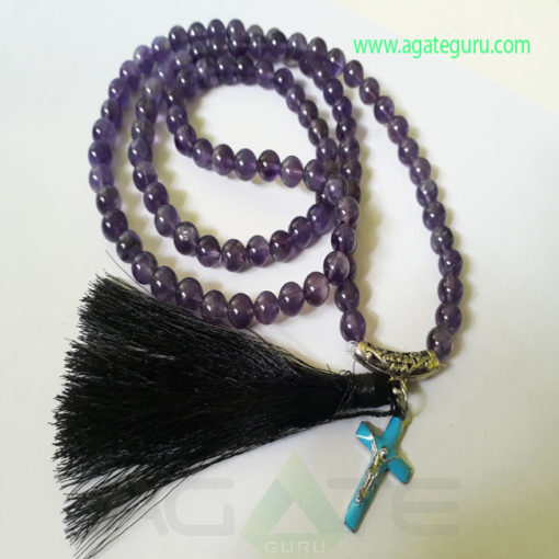 Amethyst-Natural-Beads-Jaap-Mala-with-Cross