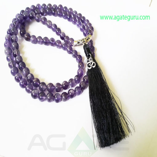 Amethyst-Natural-Beads-Jaap-Mala-with-Om