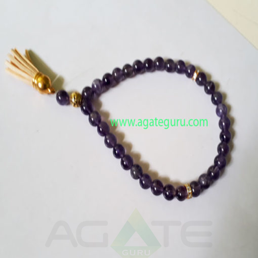 Ametyst-Gemstone-Prayer-Tasbih