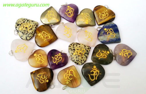 Assorted-Heart-Engrave-Om-Pendant-(1)