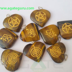 Assorted-Tiger-Eye-Engrave-Heart-Pendant