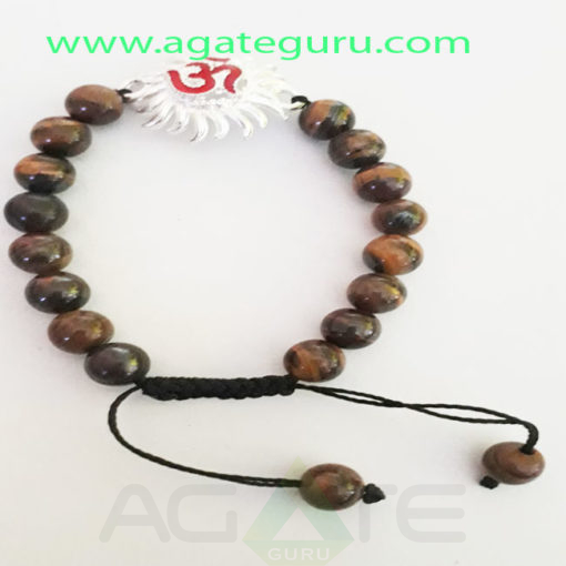 Tiger-eye-Beads-Hand-Made-Bracelet