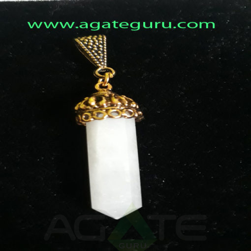 White-King-agate-Fency-Pencil-Pendent