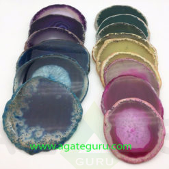 Wholesale-slate-coaster-slices-natural-stone-agate