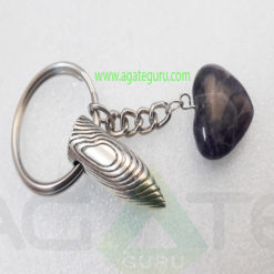 Amethyst-Bullet-Key-Ring