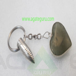 Bullete-Gemstone-Heart-Key-Ring