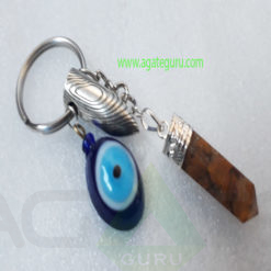 Crystal-Orgonite-Pencil-With-Bullet-Keychain