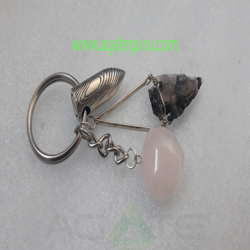 Fenscy-Arrowhead-With-Bullet-Keychain