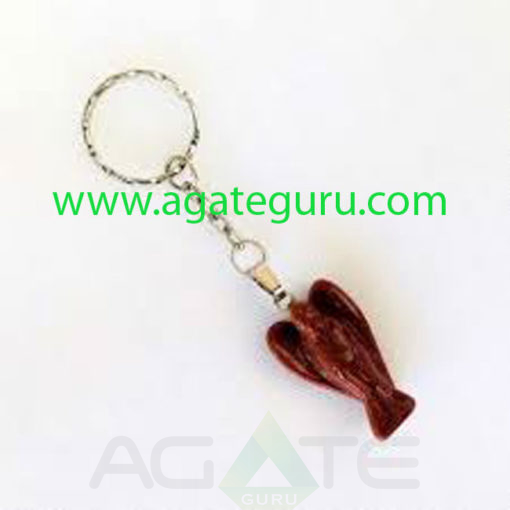 Gemstone-Angel-Key-Ring