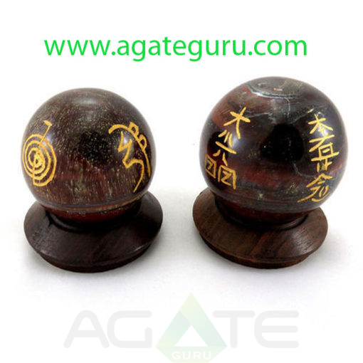 Red-Tiger-Eye-Sphere-With-Engraved