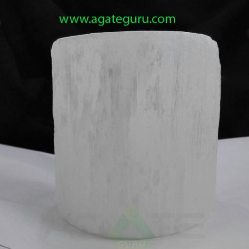 Selenite-Candle-Holder