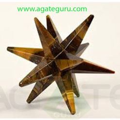 Tigereye-Agate-12-Point-Merkaba-Star