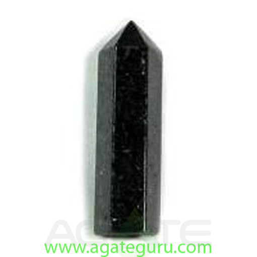 nuummite-gemstone-standing-point