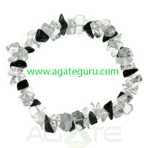 quartz-and-tourmalinated-quartz-gemstone-chip-bracelet_1