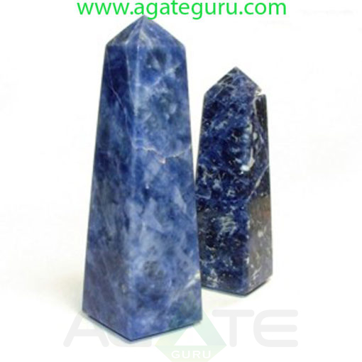 sodalite-obelisk-Gemstone-Tower