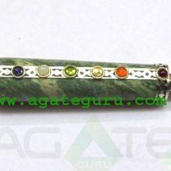 7 Chakra Green Aventurine Healing Stick