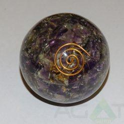 Amethyst Orgone Ball
