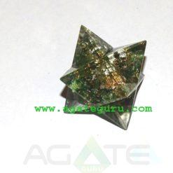 Blood Stone Orgone Merkaba star