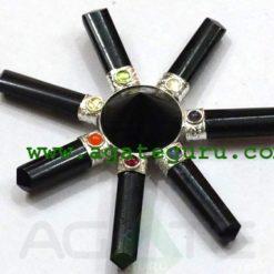 Full Black 7 Chakra Energy Generator