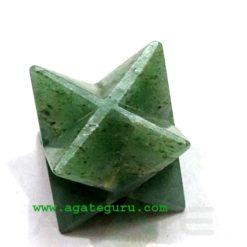 Green Flouride Merkaba Star