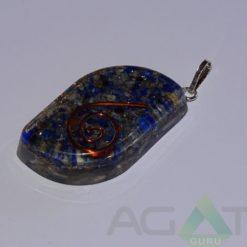 Lapis Lazuli Orgone Eye Pendent