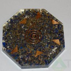 Lapis Lazuli Orgone Octagon Vastu Plate