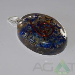 Lapis Lazuli Orgone Oval Pendent
