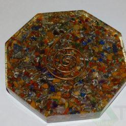 Mix Chakra Orgone Octagon Vastu Plate