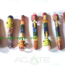 Mix Chakra Tibetan Healing Stick With Ball