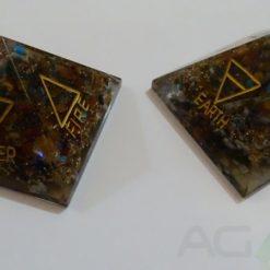4 Element Chakra Orgone Pyramid