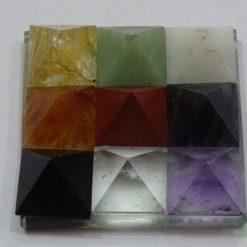 9 Pyramids Plate