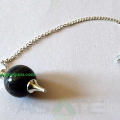 Black tourmaline Ball Pendulums