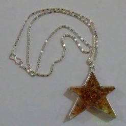 Carnelian Orgone Star