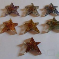 Chakra Orgone Energy Star Shape.