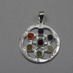 Chakra Star flower stone