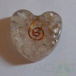Crystal Orgone Heart Pendent