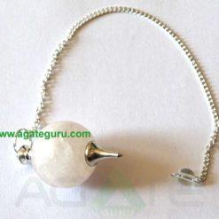 Crystal Quartz Ball Pendulums