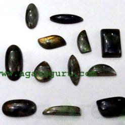 Labradorite cabochon mix shape & size