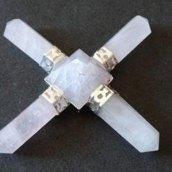 Light Rose Quartz pyramid generator