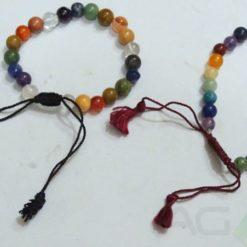 Mix Stone Bracelets With String