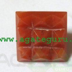 Red Carnelian Vastu Pyramid