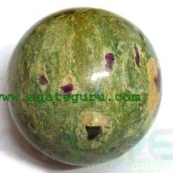 Ruby Fuscite Ball Spheres Wholesaler Manufacturer