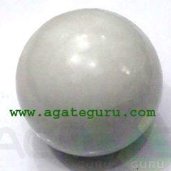 White Agate Spheres Wholesaler Manufacturer