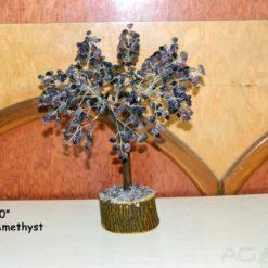 Amethyst 1000beads Gemstone Tree