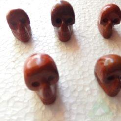 Red jesper Skull