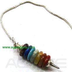 Chakra Bonded Tire Pendulum
