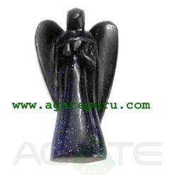 Blue Aventurine Angels