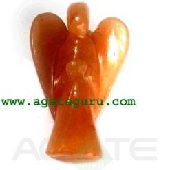 Orange Aventurine Angels
